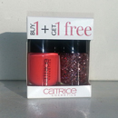 Catrice Ultimate Nail Lacquer, Farbe: 20 Meet Me At Coral Island + 45 Kitch Me If You Can