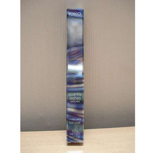 Kiko Sparkle Lashes Mascara, Farbe: 01 Strategic Silver (LE)