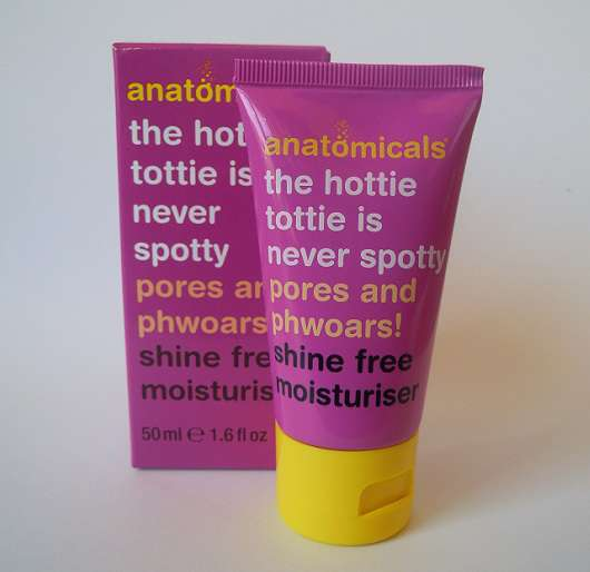anatomicals shine free moisturiser