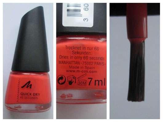 test nagellack manhattan quick dry 60 seconds nail polish farbe 43s testbericht von olja. Black Bedroom Furniture Sets. Home Design Ideas