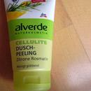 alverde Cellulite Dusch-Peeling Zitrone Rosmarin