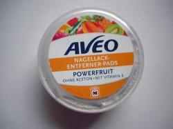 Produktbild zu AVEO Nagellack-Entferner-Pads Powerfruit (ohne Aceton)