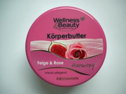 Produktbild zu Wellness & Beauty Körperbutter Feige & Rose