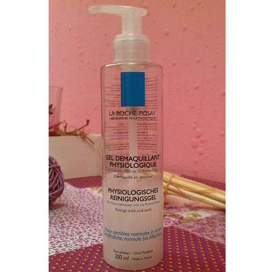 <strong>LA ROCHE-POSAY</strong> GEL DEMAQUILLANT PHYSIOLOGIQUE