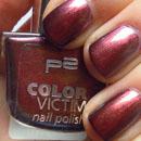 p2 color victim nail polish, Farbe: 996 before sunrise