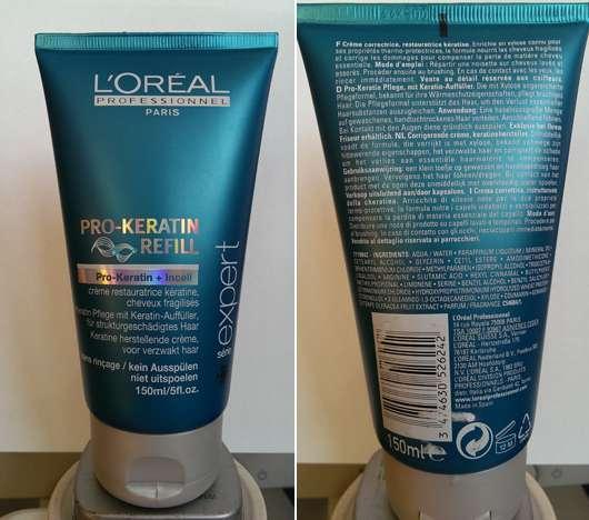 Keratin haarpflege test