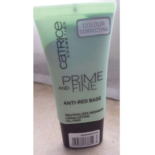 Catrice Prime and Fine Anti-Red-Base