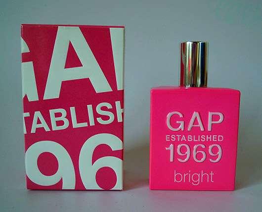 GAP Established 1969 Bright Eau de Toilette