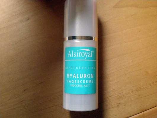 Alsiroyal Hyaluron Tagescreme (trockene Haut)