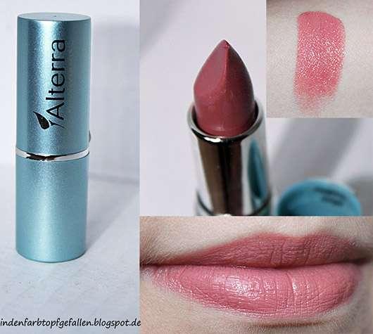 test lippenstift alterra lippenstift farbe 06 terra testbericht von cornaline92. Black Bedroom Furniture Sets. Home Design Ideas