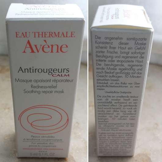 <strong>Avène</strong> Antirougeurs Calm Redness-relief Soothing repair mask