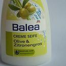 Balea Creme Seife Olive & Zitronengras