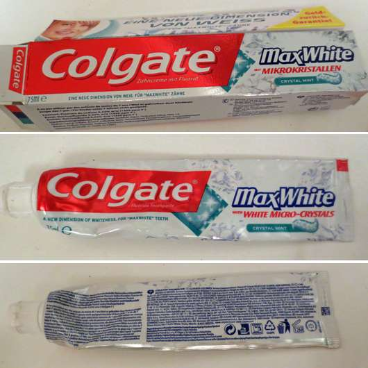 <strong>Colgate</strong> Max White Zahncreme