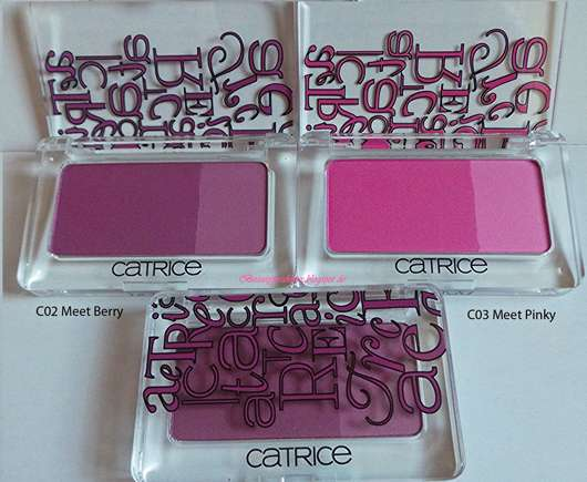Catrice Defining Duo Blush, Farbe: C03 Meet Berry & C02 Meet Pinky (LE)