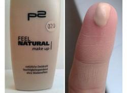 Produktbild zu p2 cosmetics feel natural make-up – Nuance: 020 natural beige