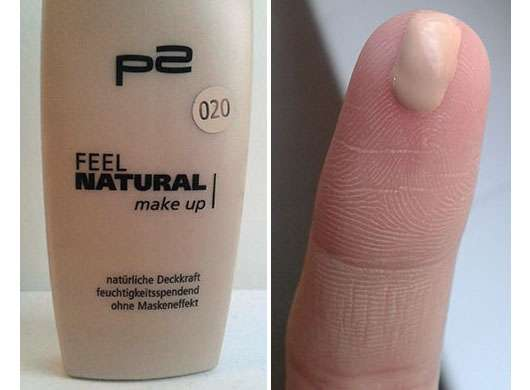 p2 feel natural make up, Farbe: 020 natural beige