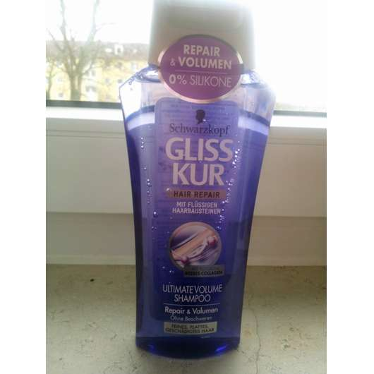 test shampoo schwarzkopf gliss kur hair repair ultimate volume