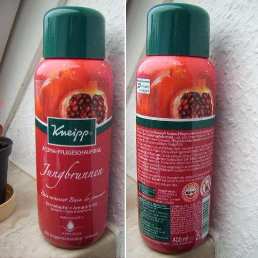 """Kneipp Aroma-Pflegeschaumbad """"Jungbrunnen"""""""