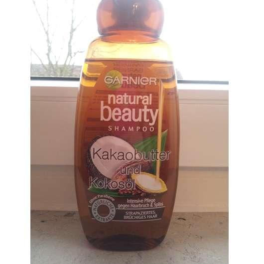 Garnier Natural Beauty Shampoo Kakaobutter und Kokosöl