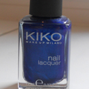 KIKO nail lacquer, Farbe: 266 Ultramarine Blue