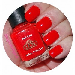 Produktbild zu LCN Nail Polish – Farbe: 5 Orange Red