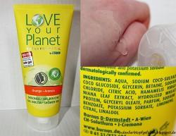 Produktbild zu Love Your Planet Naturkosmetik by Litamin Orange Arancia Duschgel