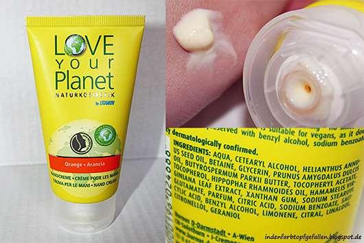 <strong>Love Your Planet Naturkosmetik by Litamin</strong> Orange Arancia Handcreme