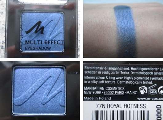 Manhattan Multi Effect Eyeshadow, Farbe: 77N Royal Hotness