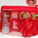 The Body Shop Strawberry Shower, Scrub & Moisture Set