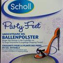 Scholl Party Feet Unsichtbare Gel Ballenpolster