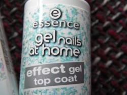 Produktbild zu essence gel nails at home effect gel top coat – Farbe: 01 diamond rocks