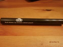 Produktbild zu LCN Soft Matte Lip Cream – Farbe: velvet peach (LE)