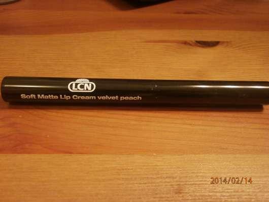 LCN Soft Matte Lip Cream, Farbe: velvet peach (LE)
