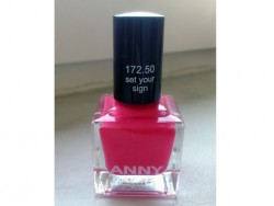Produktbild zu ANNY Cosmetics Nagellack – Farbe: set your sign (LE)