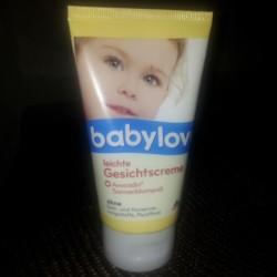 Produktbild zu babylove leichte Gesichtscreme