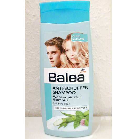 test shampoo balea anti schuppen shampoo wasserminze. Black Bedroom Furniture Sets. Home Design Ideas