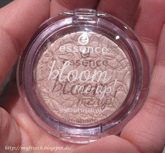 essence bloom me up! mono eyeshadow, Farbe: 01 bloomylicious (LE)