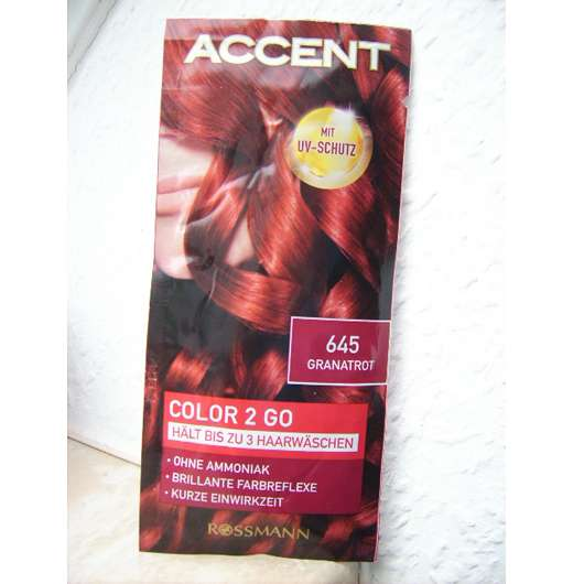 <strong>Accent</strong> Color 2 Go - Farbe: 645 Granatrot