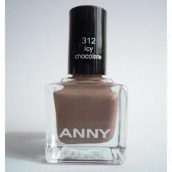 Produktbild zu ANNY Cosmetics Nagellack – Farbe: 312 icy chocolate