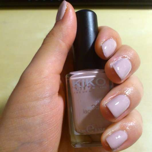 test nagellack kiko nail lacquer farbe 372 nude testbericht von lucciola. Black Bedroom Furniture Sets. Home Design Ideas