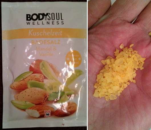 Body & Soul Wellness Kuschelzeit Badesalz Mandel & Vanille