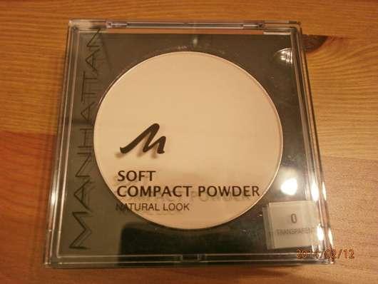 Manhattan Soft Compact Powder Natural Look, Farbe: 0 Transparent