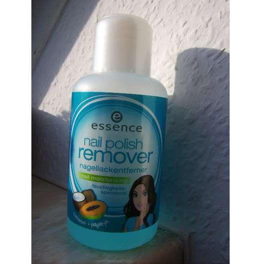 essence nail polish remover nail moisturizing (coconut + papaya)