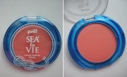 Produktbild zu p2 cosmetics sea la vie nautic beauty blush – Farbe: 010 sunny day (LE)