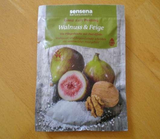 Sensena Ganz zart Peeling Walnuss & Feige