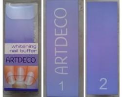 Produktbild zu ARTDECO whitening nail buffer