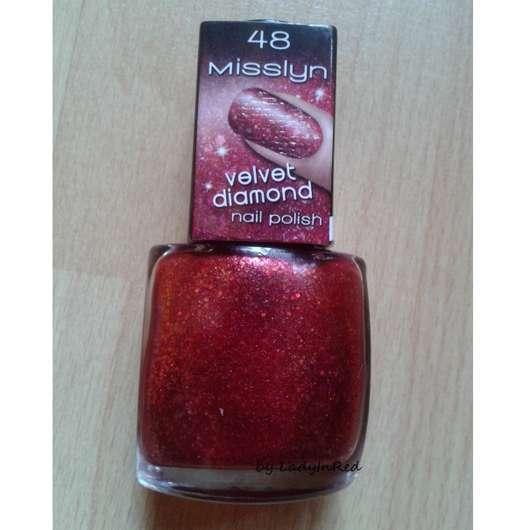 Misslyn Velvet Diamond Nail Polish, Farbe: 48 Heart-Stopping (LE)