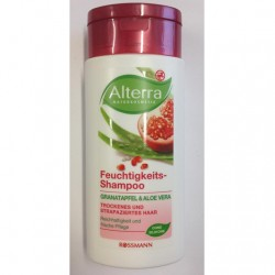Produktbild zu Alterra Naturkosmetik Feuchtigkeits-Shampoo Granatapfel & Aloe Vera