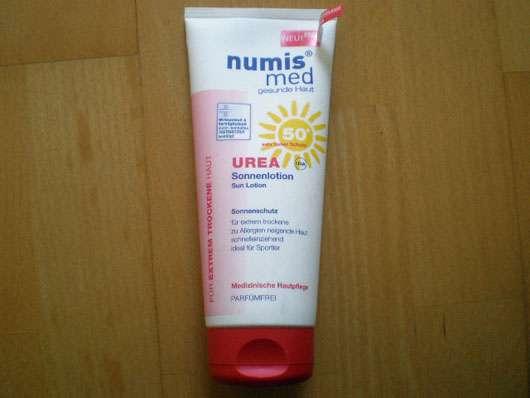 numis med Urea Sonnenlotion LSF 50+