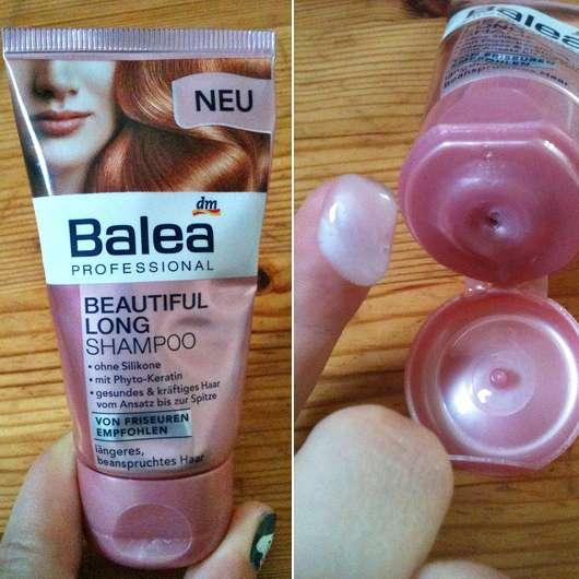 test shampoo balea professional beautiful long shampoo testbericht von meerschweinchen. Black Bedroom Furniture Sets. Home Design Ideas